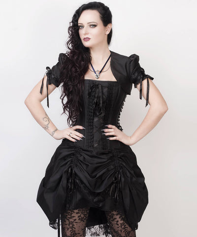 Franz Victorian Inspired Custom Made Corset Dress with Bolero