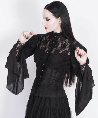 Rodney Gothic Custom Made Top with Long Sleeve