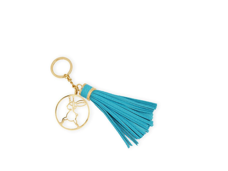 Yoga Bunny's keyring - warrior I