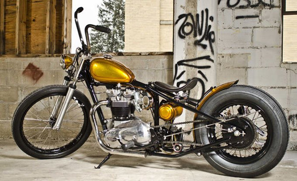 custom chopper photo