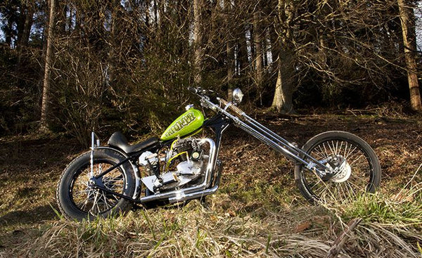 Triumph chopper photo