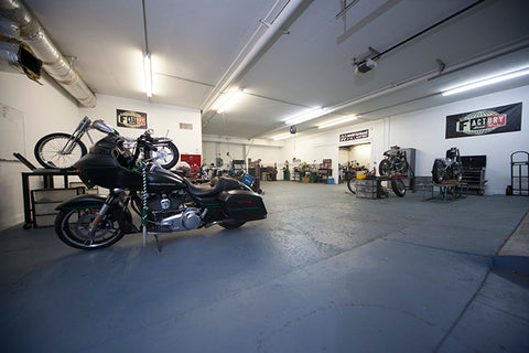 TFMW motorcycle service department
