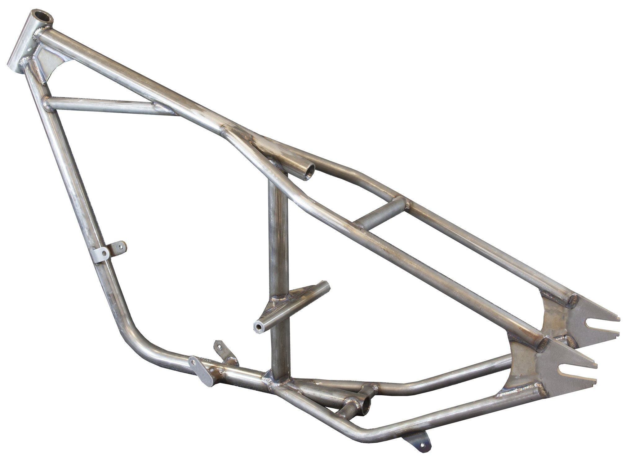 Single down-tube full hardtail frame for triumph unit 650s from the ...