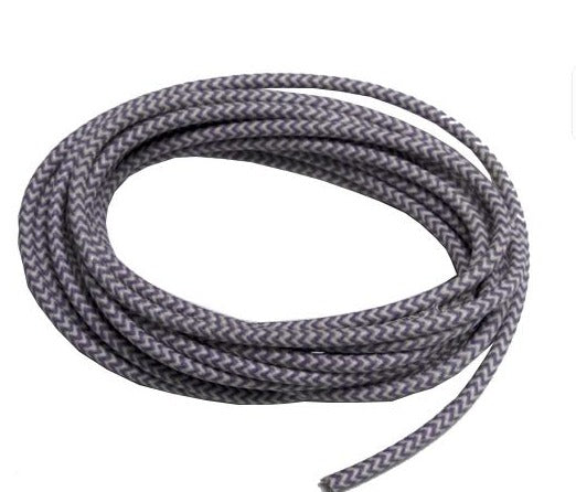 replacement cloth covered vintage wire for electronics on  braided primary wire 16ga the hot