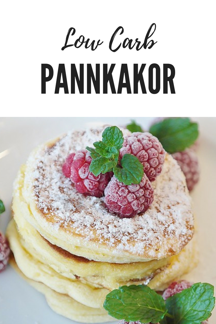 Low Carb Pannkakor/Våfflor