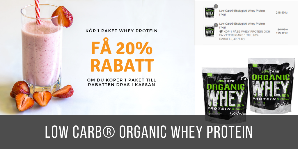 Low Carb Organic Whey Protein
