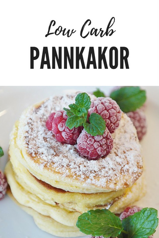 Low Carb Pannkakor
