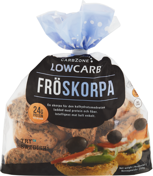 Low Carb® Fröskorpa 250g