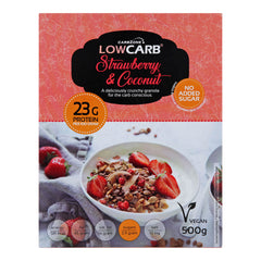 Low Carb® Strawberry & Coconut Crunchy Granola-CarbZone