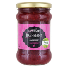 Low Carb® Hallonsylt 75% (320g) | Low Carb® Raspberry Jam (320g) - CarbZone - 1