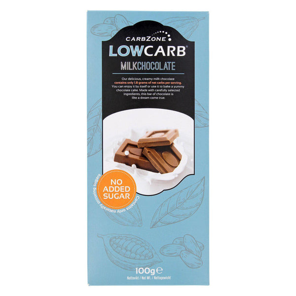 Low Carb® Mjölkchoklad 100g | Low Carb® Milk Chocolate (100g)