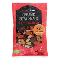 Low Carb® Organic Soya Snack - Tomato Mix-CarbZone