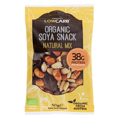 Low Carb® Organic Soya Snack - Natural Mix-CarbZone