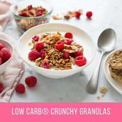 Low Carb® Raspberry & Coconut Crunchy Granola-CarbZone