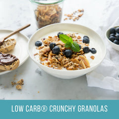 Low Carb® Blueberry & Coconut Crunchy Granola