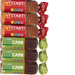 Paket - 4st Low Carb+ 4st NYSTART!-CarbZone