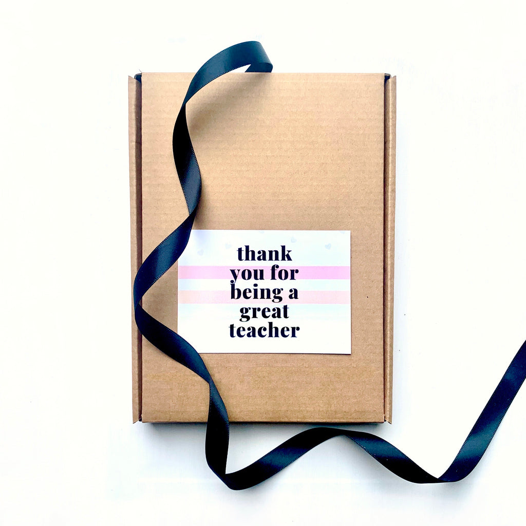 """Thank you Teacher"" Letterbox Gift"