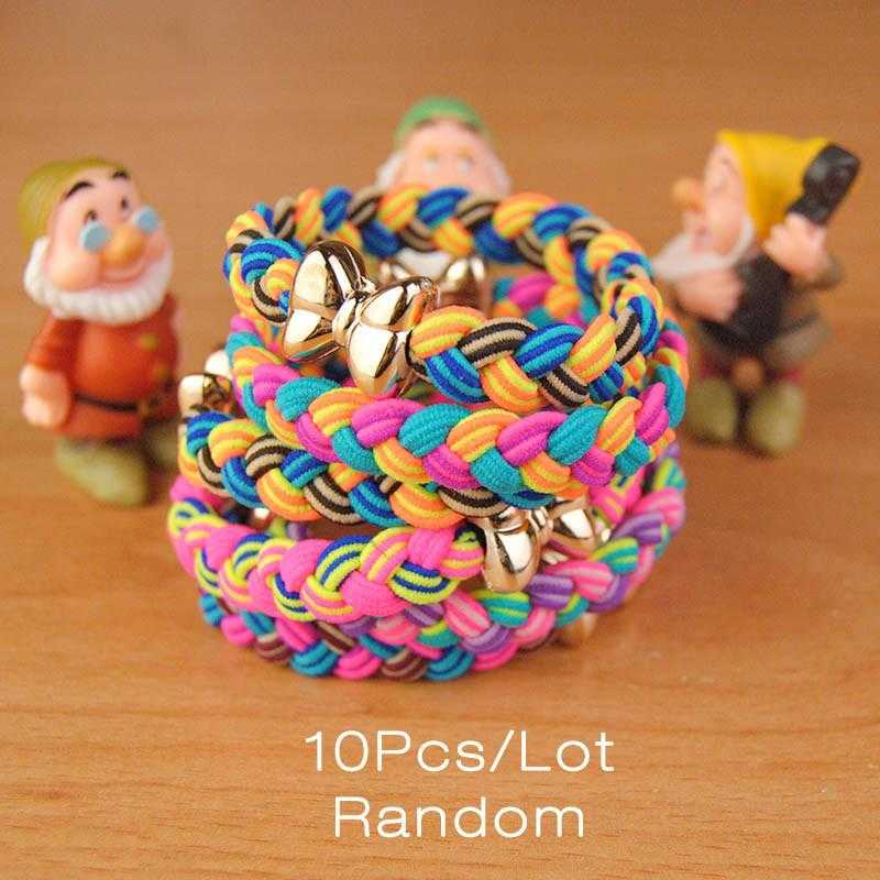 Free Black Elastic Hair Bands-Hair Accessories-Kirijewels.com-Multi Colorful-Kirijewels.com