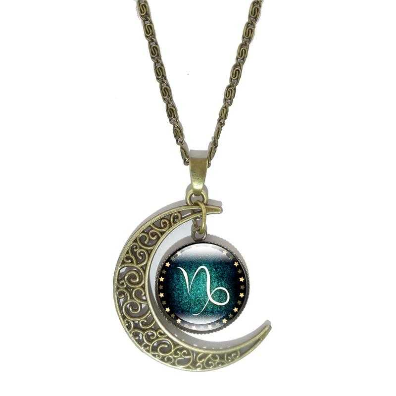 Constellation Pendant Necklace-Necklace-Kirijewels.com-Capricorn-Kirijewels.com