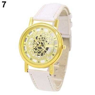 Skeleton Sports Dress Wrist Watch