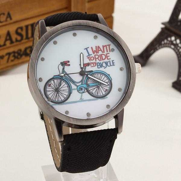 Free Bicycle Watch-Watch-Kirijewels.com-Black-Kirijewels.com