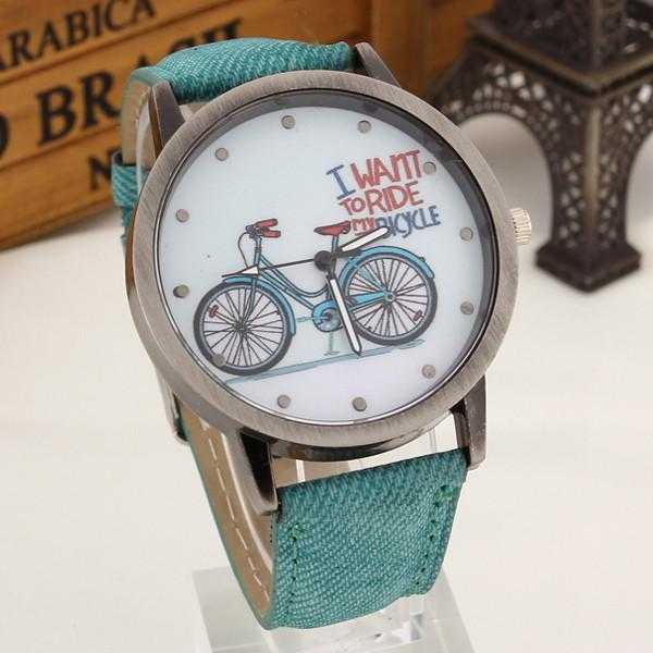 Bicycle Watch-Watch-Kirijewels.com-Green-Kirijewels.com