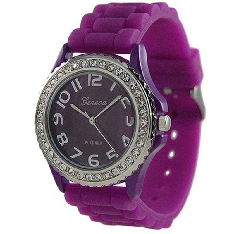 Free Geneva Platinum Large Face Watch-Watch-Kirijewels.com-Purple-Kirijewels.com