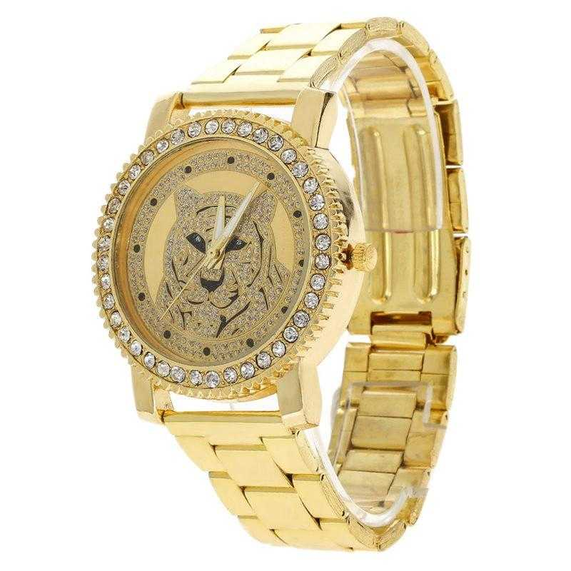 Tiger Watch-Women's Watches-Kirijewels.com-Gold-Kirijewels.com