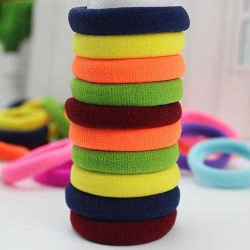 Free High Quality Rubber Bands Hair Holders-Hair Accessories-Kirijewels.com-Candy colors-Kirijewels.com
