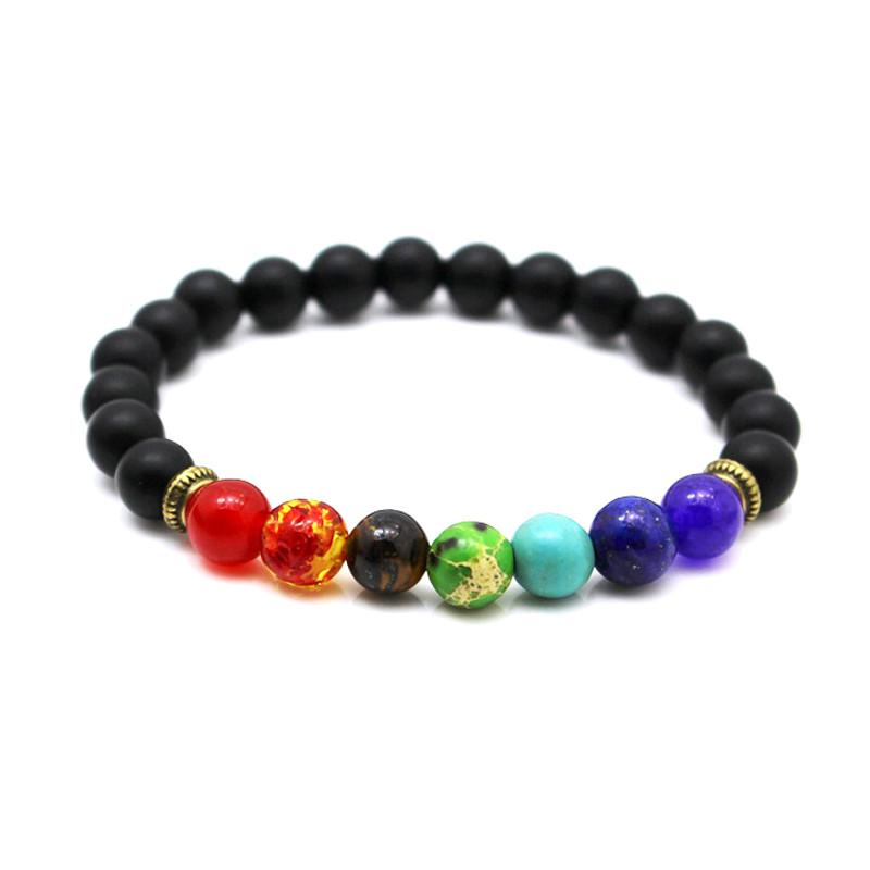FREE Buddha Prayer Natural Stone Yoga Bracelet-Charm Bracelets-Kirijewels.com-colorful-Kirijewels.com