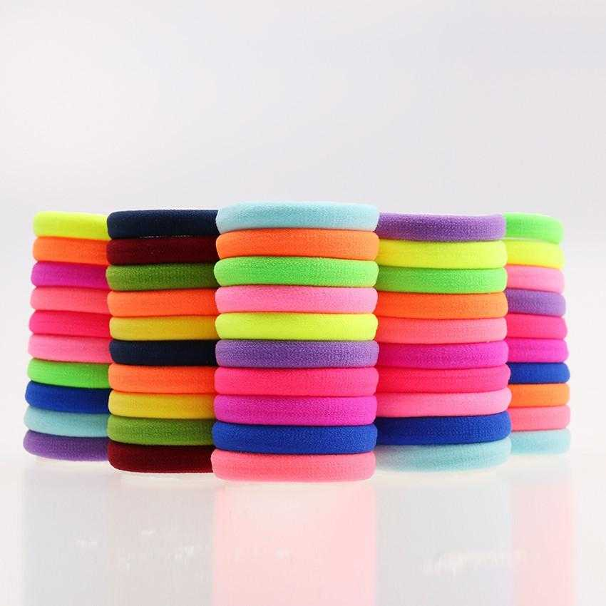 Free High Quality Rubber Bands Hair Holders-Hair Accessories-Kirijewels.com-Black-Kirijewels.com