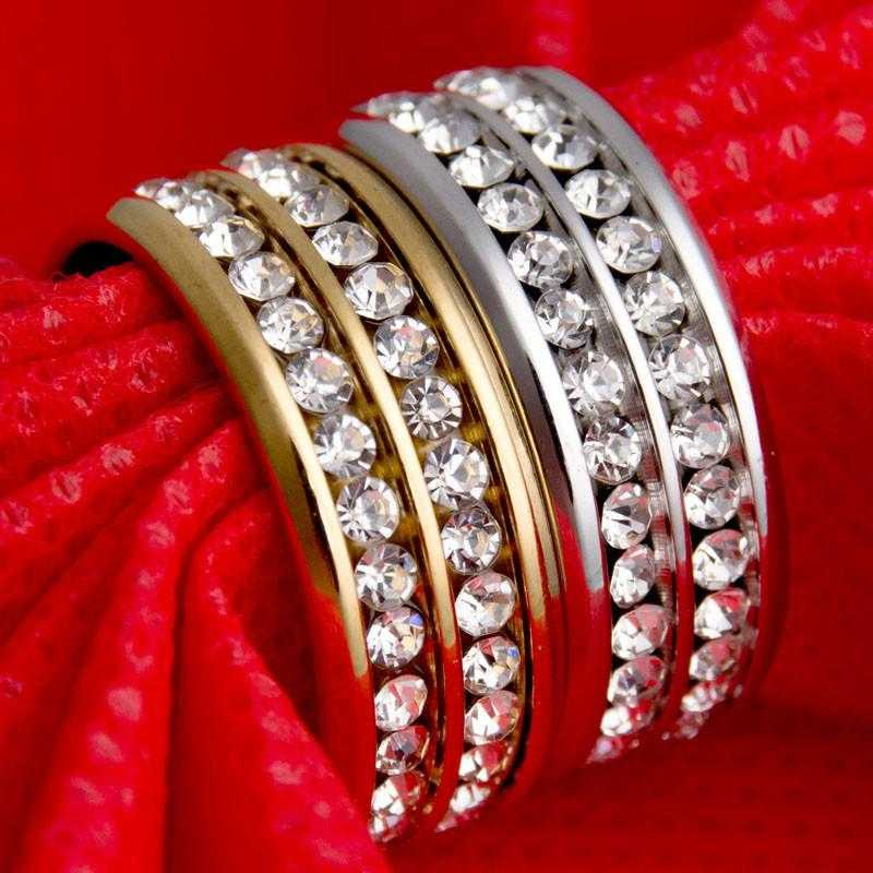 Romantic Crystal Wedding Ring-Rings-Kirijewels.com-8-Gold-Kirijewels.com