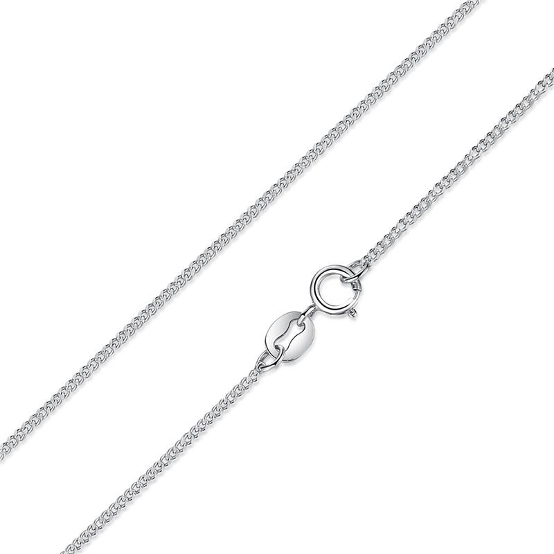 Valentina 100% Sterling Silver 925 Lobster Clasp Adjustable Chain Necklace-Chain Necklaces-Kirijewels.com-silver SCA006-Kirijewels.com