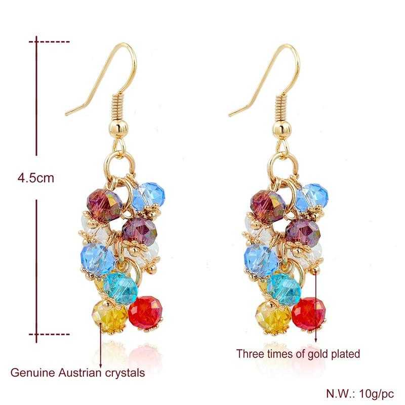 Romantic Drop Earrings-earrings-Kirijewels.com-Multicolor-Kirijewels.com
