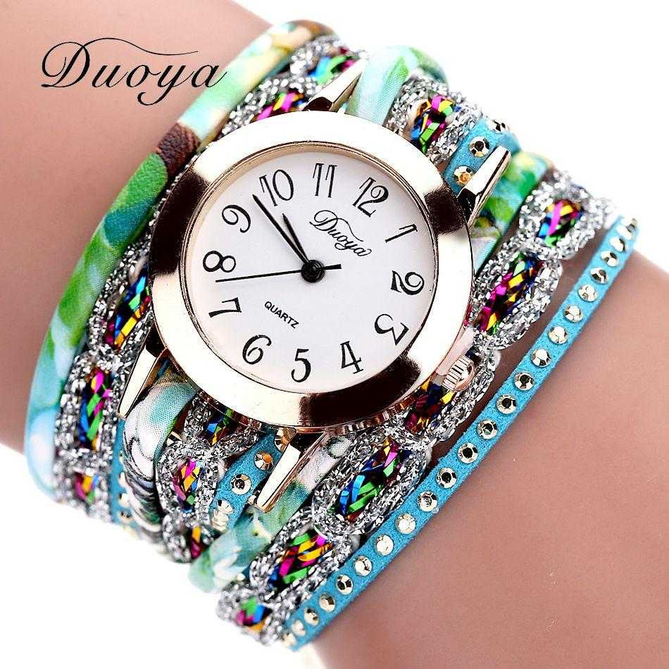 FREE Colourful Bracelet Wrist Watch-Watch-Kirijewels.com-001 Black-Kirijewels.com