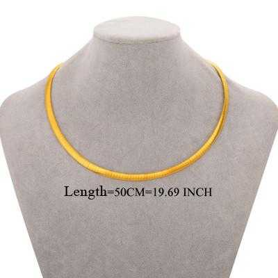 Free New Elegant Stainless Steel Choker Necklace