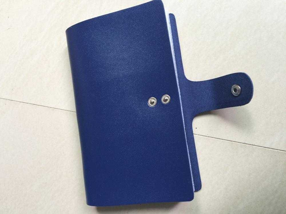 FLYING BIRDS Double Hasp Business Card Holder-Card & ID Holders-Kirijewels.com-blue-Kirijewels.com