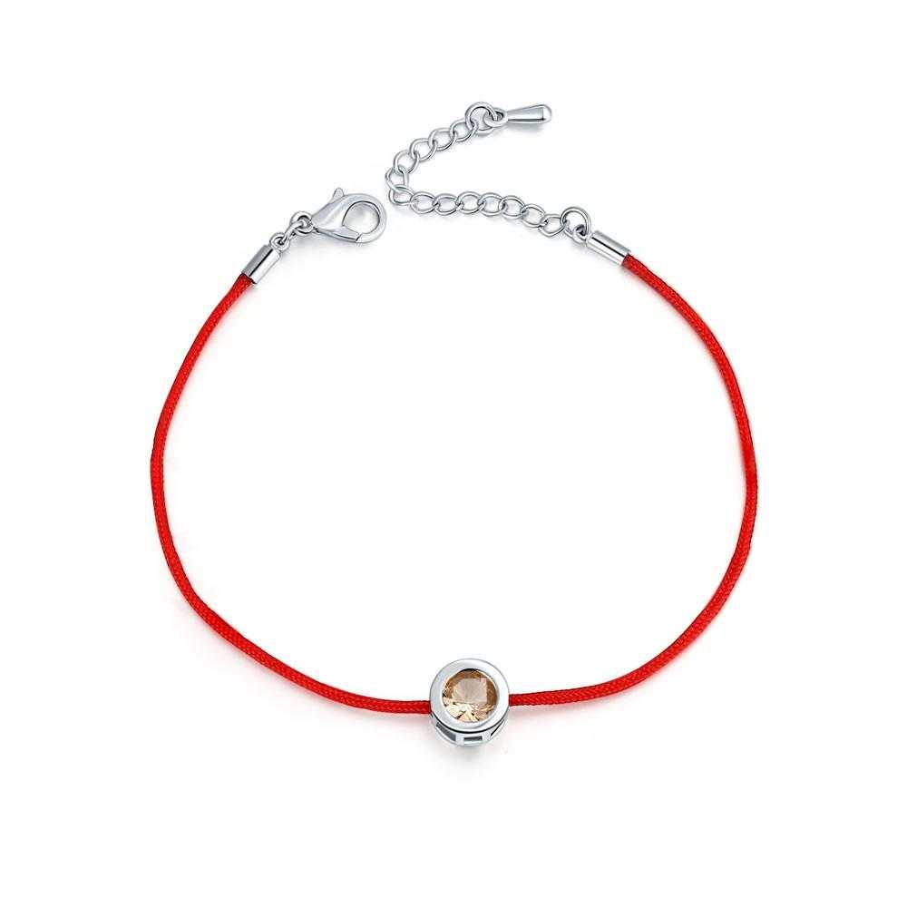 Free Lobster Clasp Red Thread Bracelet-Charm Bracelets-Kirijewels.com-6-Kirijewels.com
