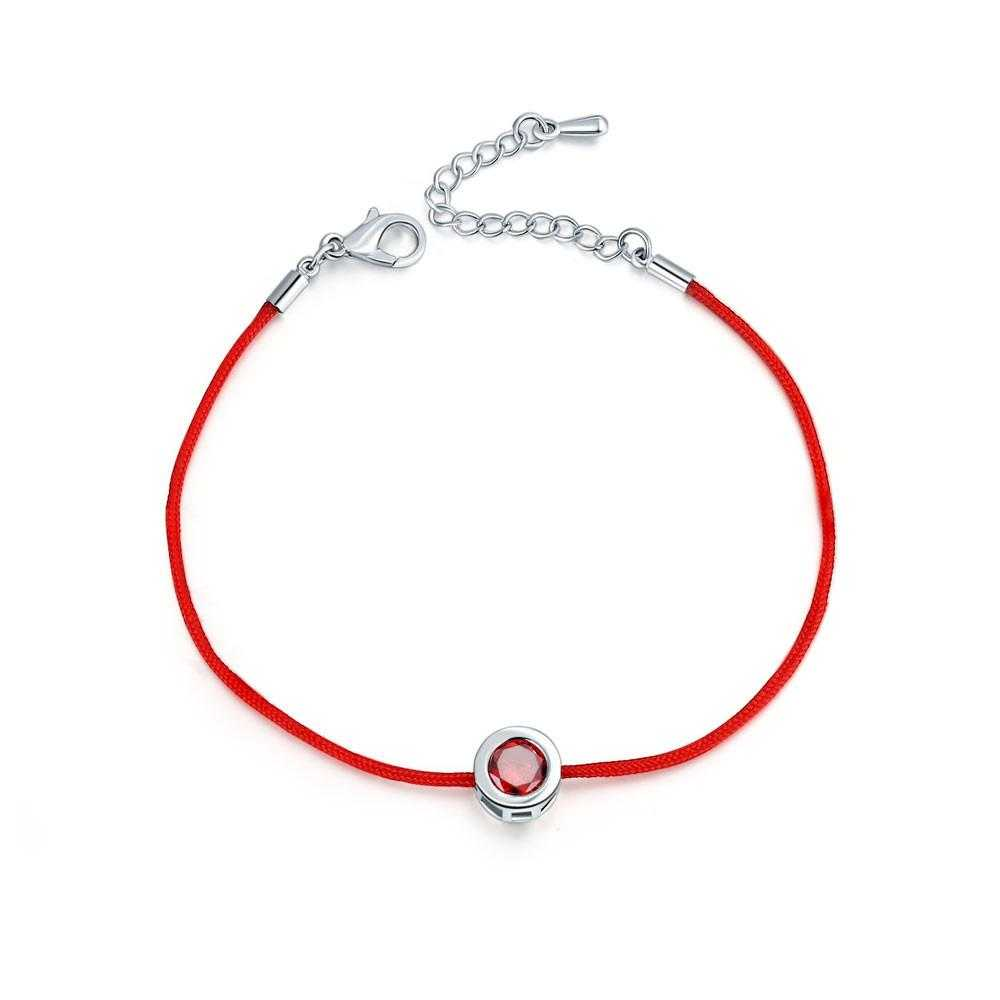 Free Lobster Clasp Red Thread Bracelet-Charm Bracelets-Kirijewels.com-14-Kirijewels.com