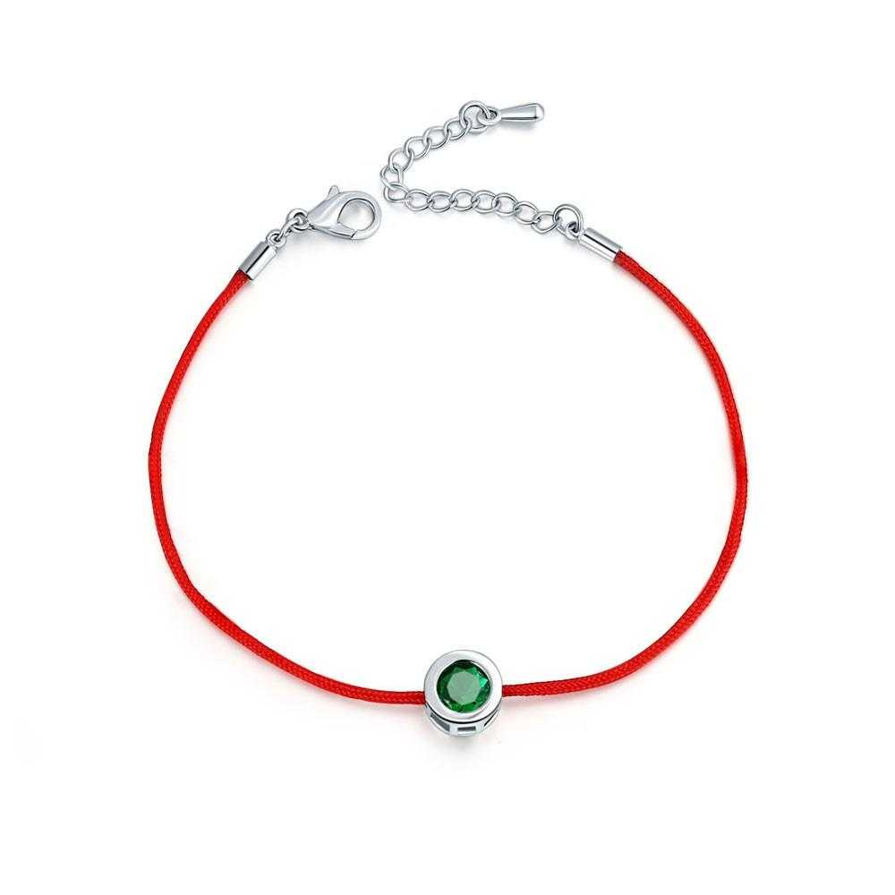 Free Lobster Clasp Red Thread Bracelet-Charm Bracelets-Kirijewels.com-4-Kirijewels.com