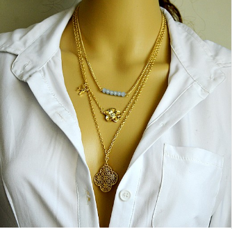 Free Multi Layer Summer Style Necklace-Kirijewels.com-Star-Kirijewels.com