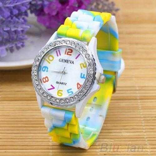FREE Rainbow Watch-Watch-Kirijewels.com-White-Kirijewels.com
