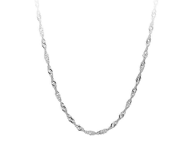 Free Water Wave Chain Necklace-Necklace-Kirijewels.com-16 INCH-Kirijewels.com