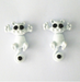 Cat Stud Earrings-earrings-Kirijewels.com-White-Kirijewels.com