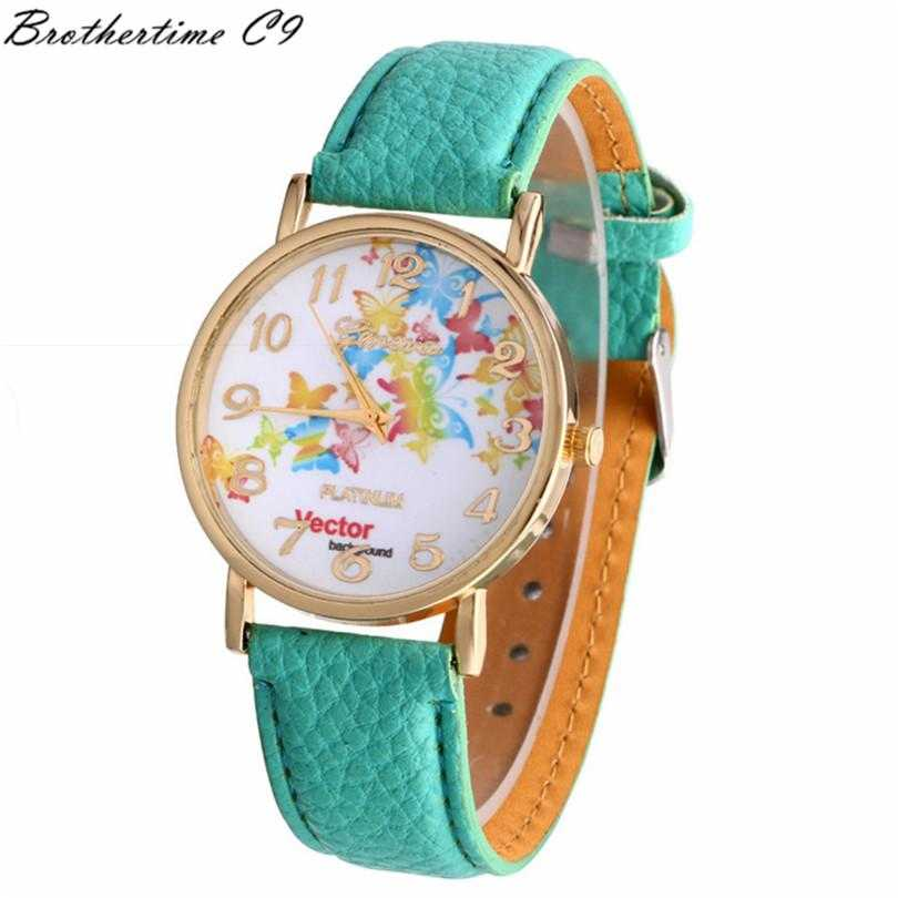 Free Vector Butterfly Watch-Watch-Kirijewels.com-Sky Blue-Kirijewels.com