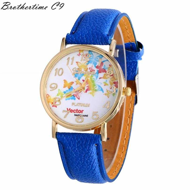 Free Vector Butterfly Watch-Watch-Kirijewels.com-Blue-Kirijewels.com