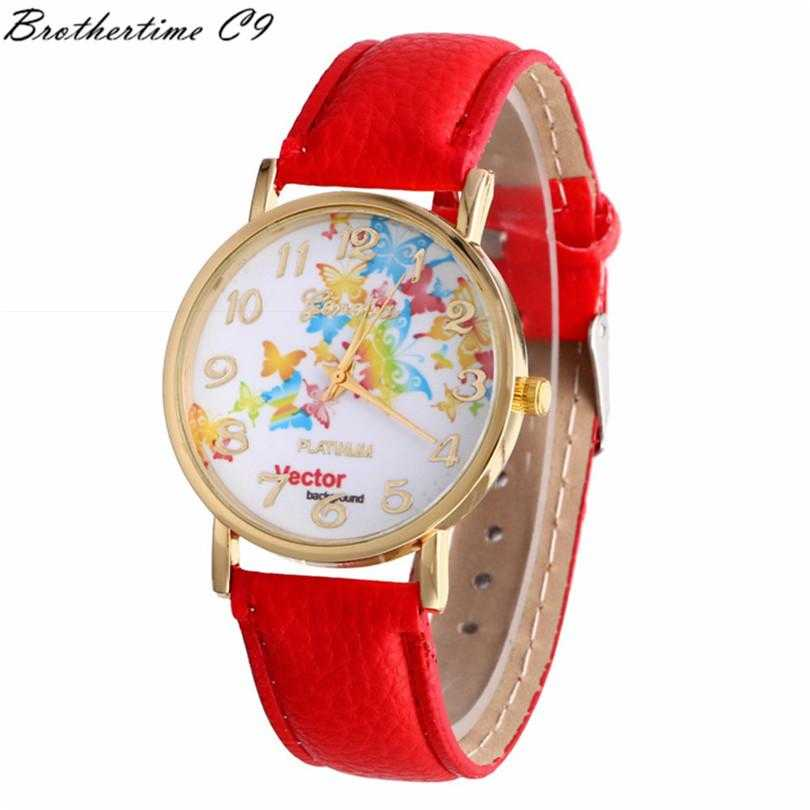 Free Vector Butterfly Watch-Watch-Kirijewels.com-Red-Kirijewels.com