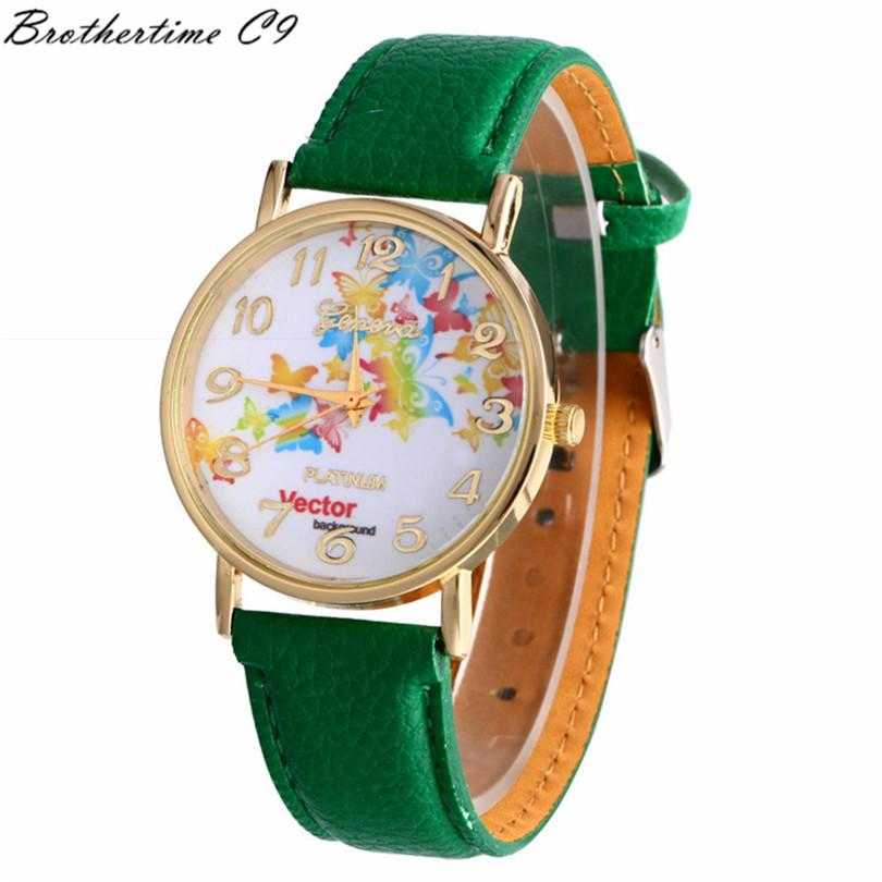 Free Vector Butterfly Watch-Watch-Kirijewels.com-Green-Kirijewels.com