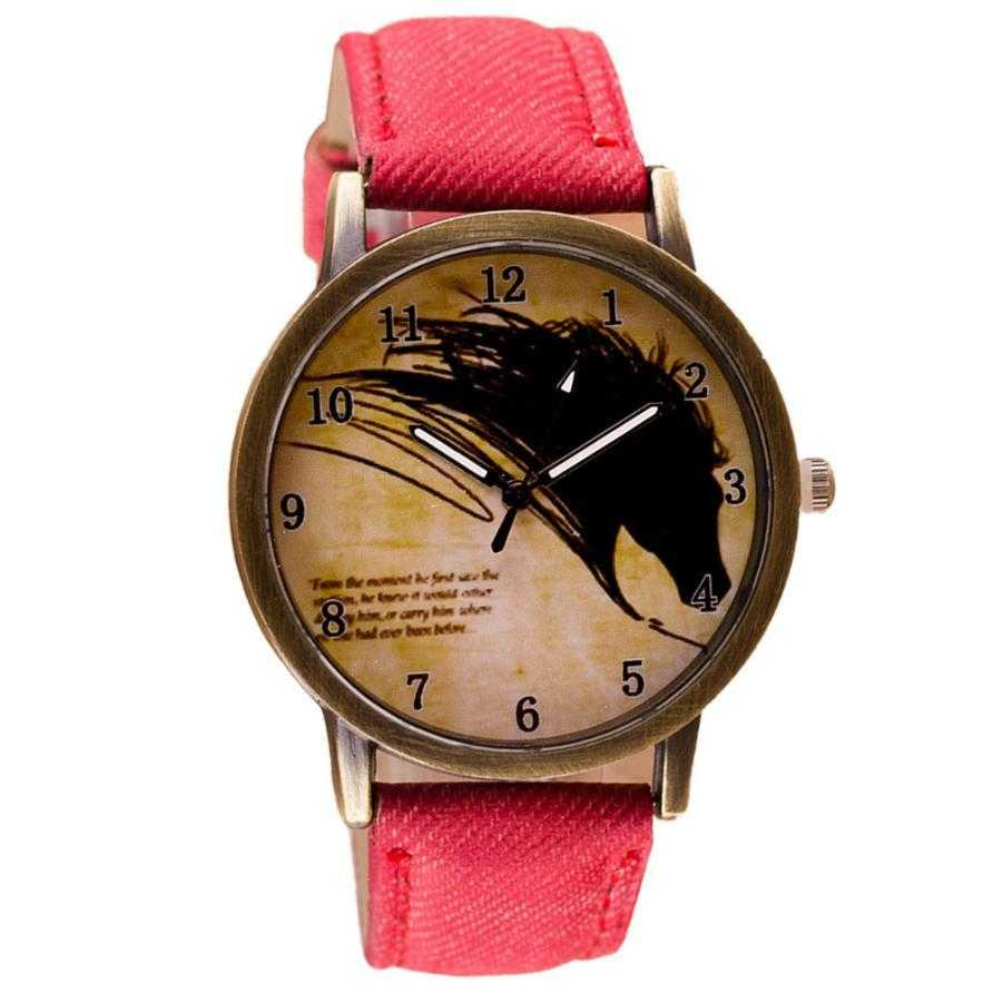 Horse Watch-Watch-Kirijewels.com-Red-Kirijewels.com