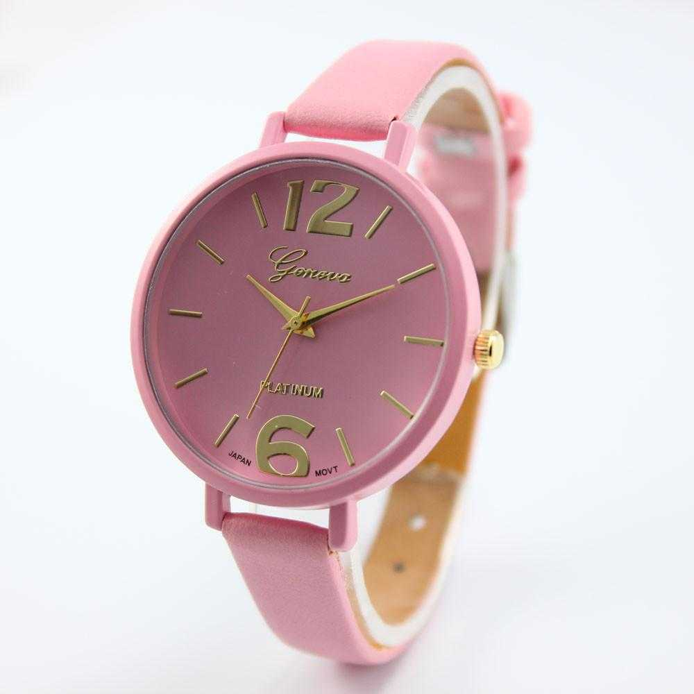 Free New Fashion Geneva Leather WristWatch-Watch-Kirijewels.com-as show 4-Kirijewels.com
